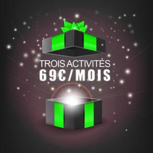 Abonnement 3 activités